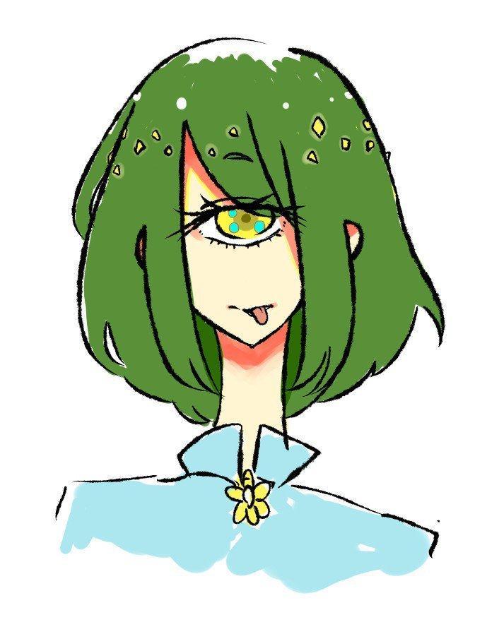 可愛い女の子のバストアップイラストを描きます SNSのアイコンやプロフィール画像などにどうぞ!