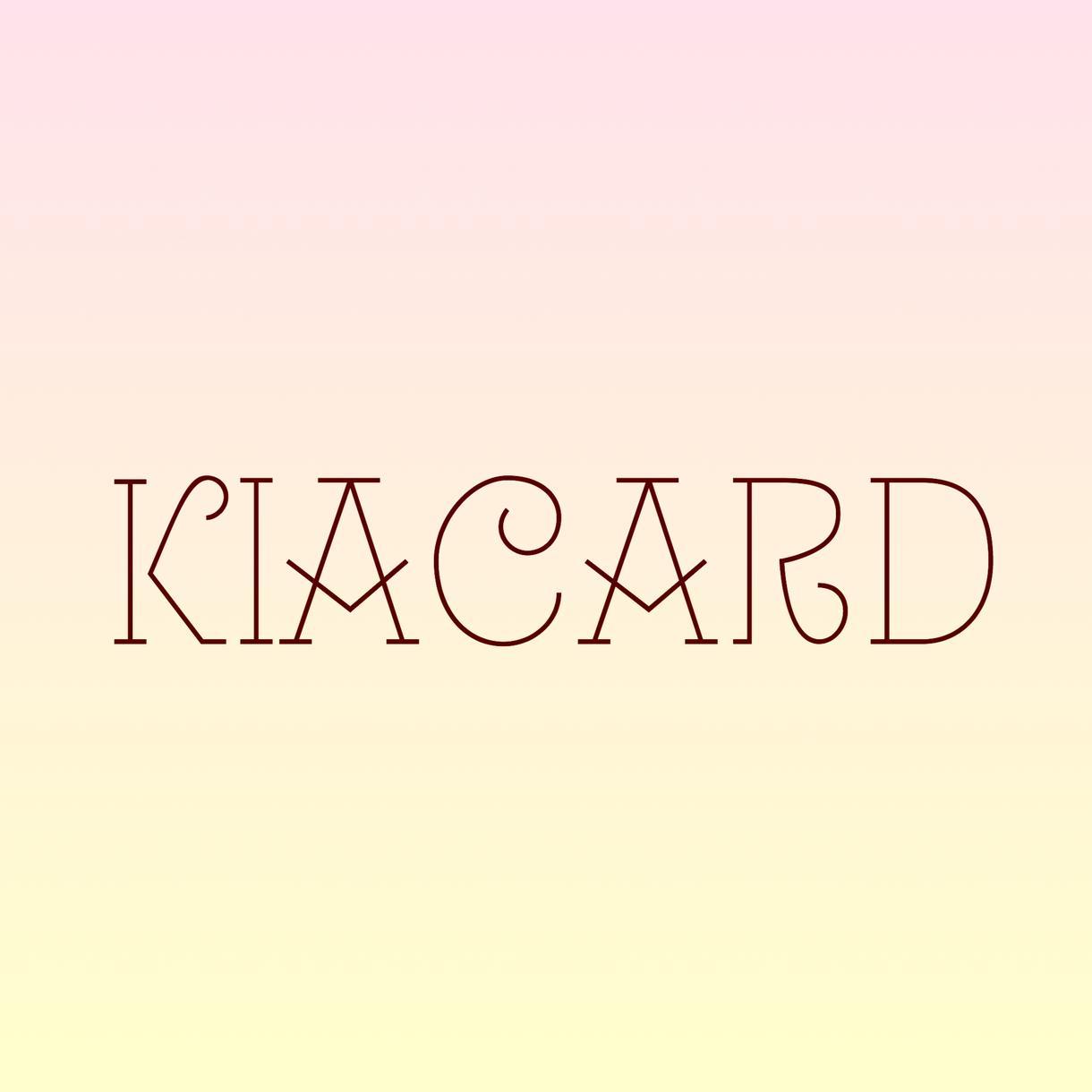 シンプル★文字フォントのロゴつくります 名刺、チラシ、ハガキ、などに印象的なロゴを。