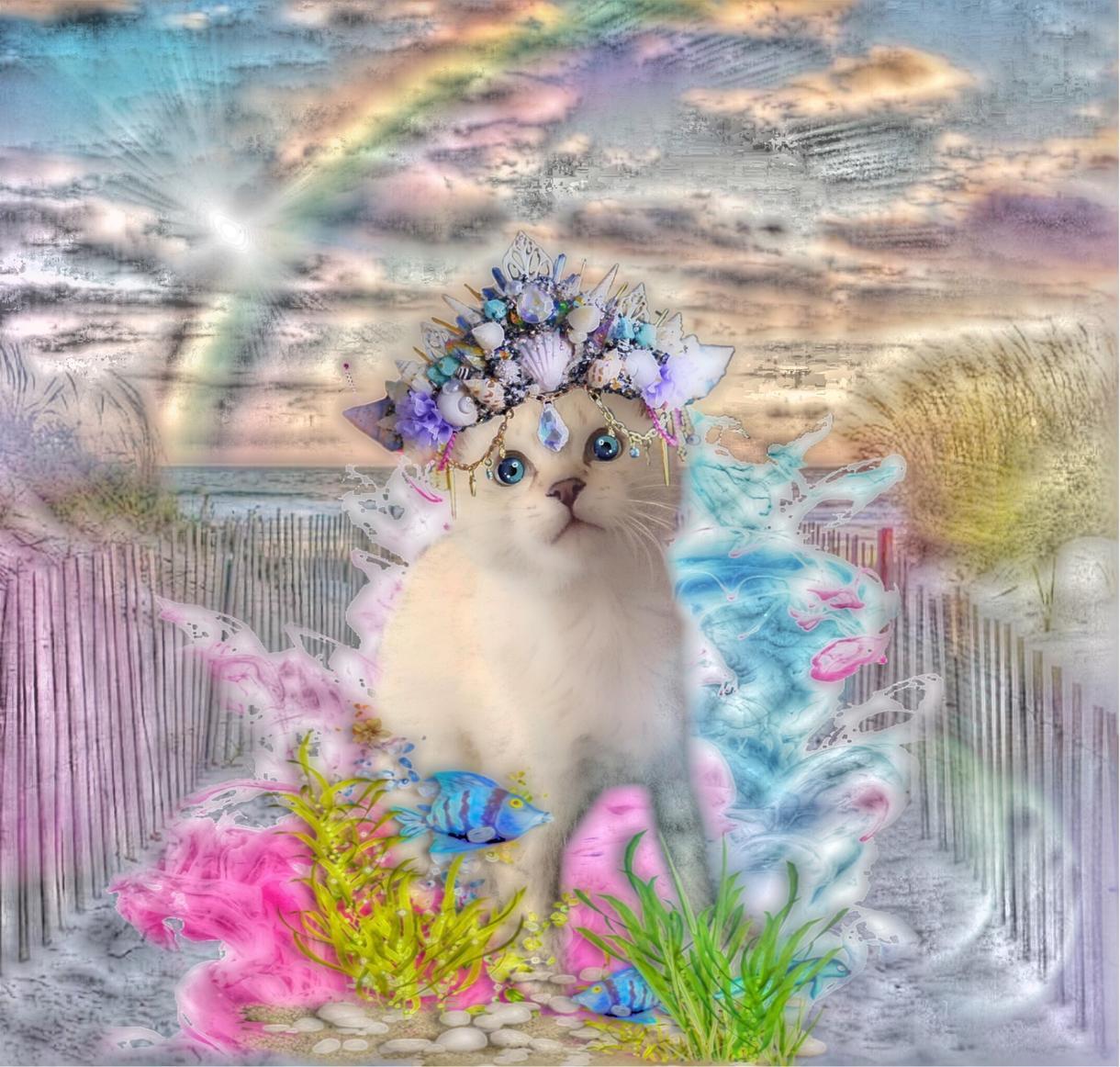 猫ちゃんのお写真から素敵なイラスト作成します オリジナリティ溢れるアート作品を提供します。