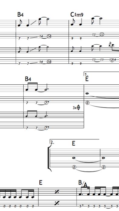 ベースパート譜面作成します 耳コピでどうしても聞き取れない!って方に!TAB譜もOK