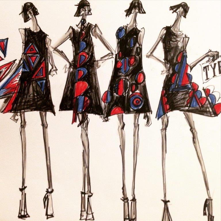 ファッションデザイン画描きます ファッションデザイン画が苦手な方