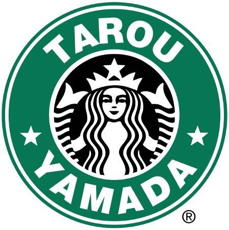 あなたの名前と有名店のロゴをコラボします!