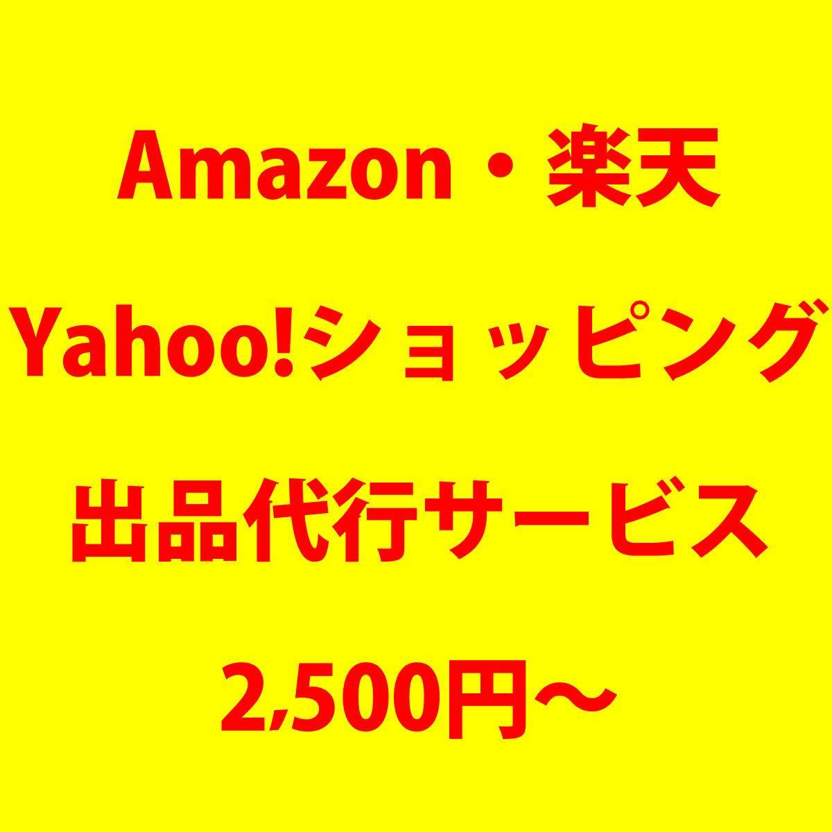 アマゾン、楽天、などECモールの商品登録します その他、ヤフー、au PAY、Qoo10、ヤマダモールも◎ イメージ1