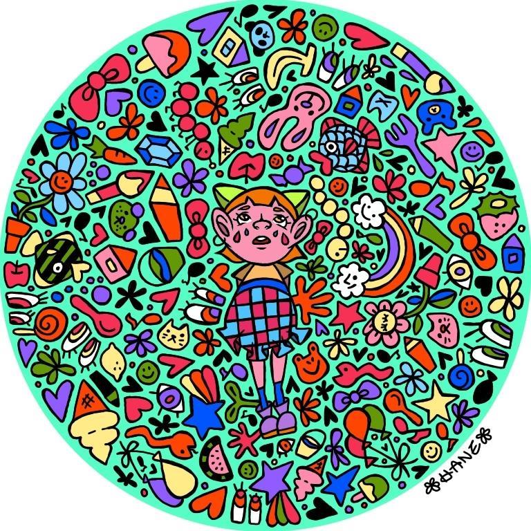 アイコン、ヘッダーイラスト描きます 自分のルーツをアイコン、ヘッダーに! イメージ1