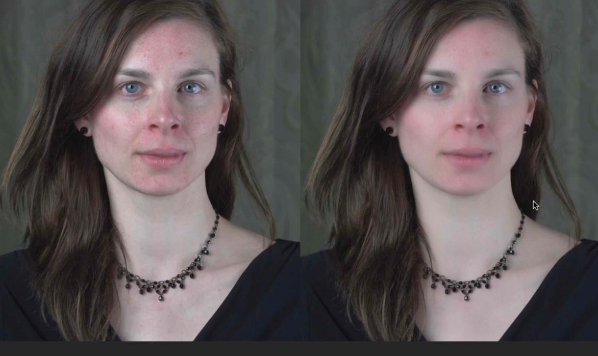 動画素材の美肌補正を10秒単位で時間売りします 撮影後の処理おまかせください。プロダクション仕上げ。 イメージ1