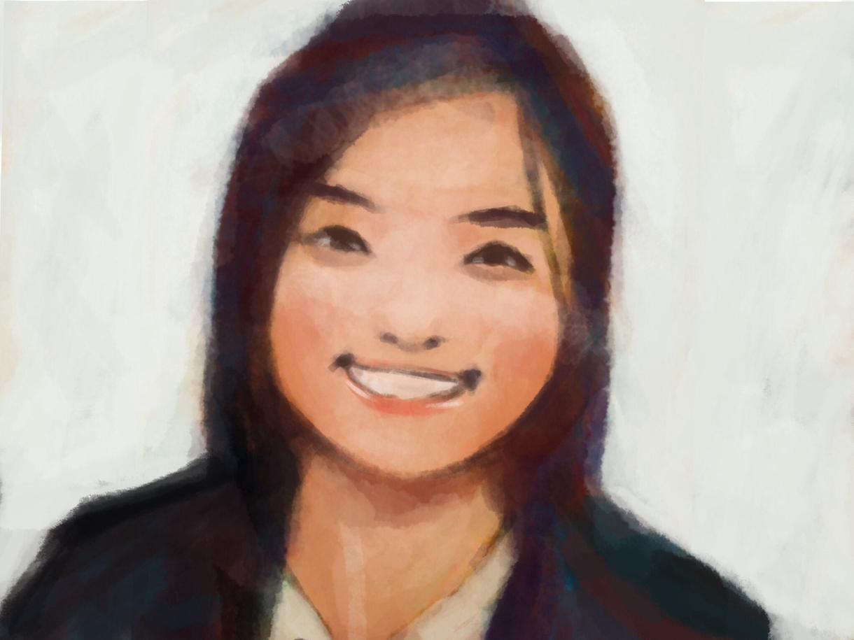 やわらかい雰囲気の似顔絵を描きます!