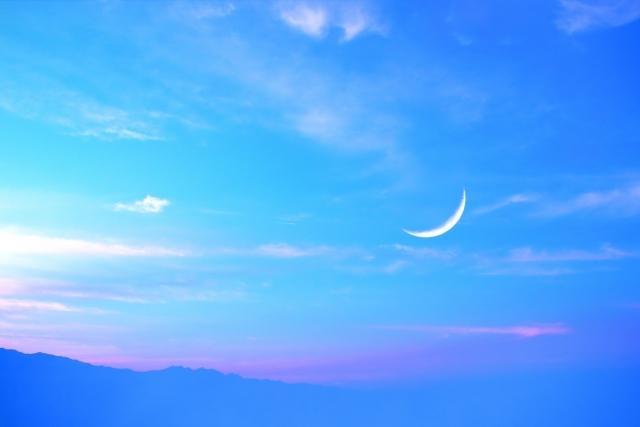 新月一緒に祈ります 蠍座は追求やチャレンジに適してます。行動起こすのにいい月 イメージ1