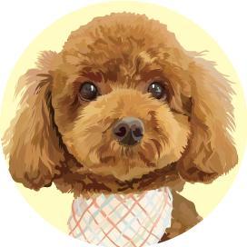犬、猫の絵を描きます 愛犬、愛猫のイラストで世界でひとつのグッズを作りたい方など