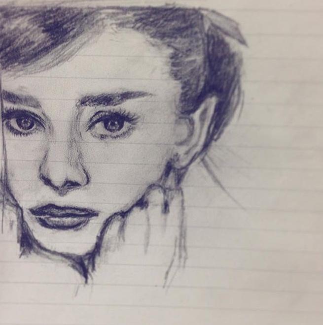 鉛筆で似顔絵描きます SNSのアイコンにもオススメ!