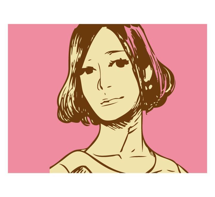 コミックタッチな似顔絵描きます!