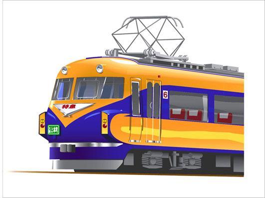 鉄道系イラストを描いてます ファンの方、鉄道会社様向け!ちょっとイラストっぽく。