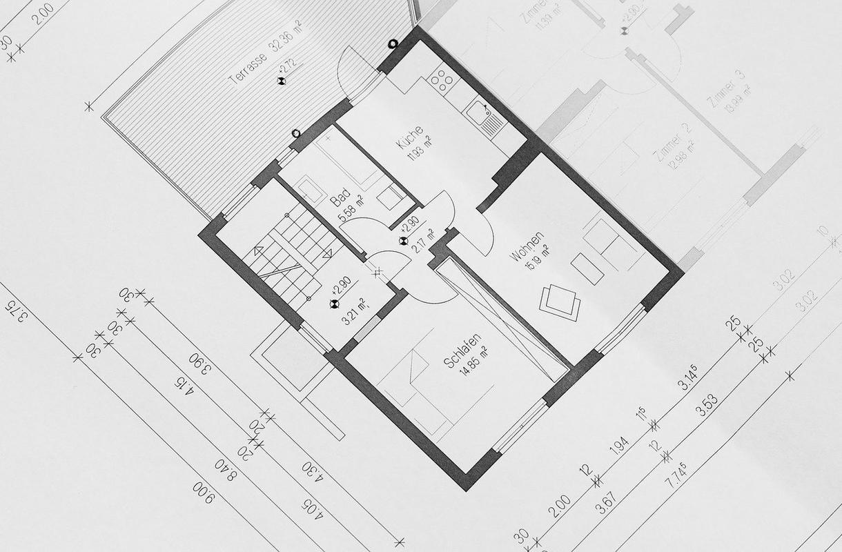 ご自宅の家具、家電配置考えます ベクターワークスを一緒に配置を考えます。 イメージ1