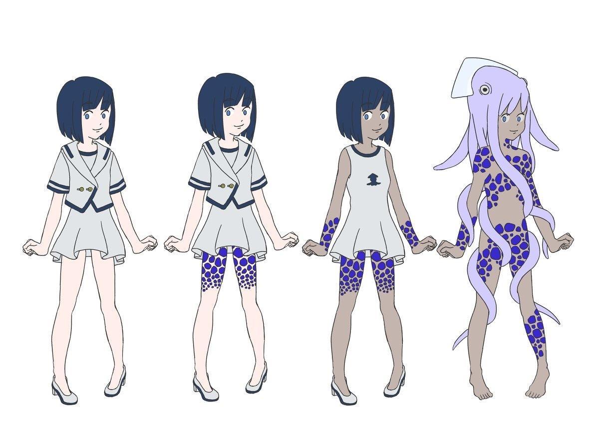 生物の擬人化キャラクターデザインします 自作ゲームのキャラクターなどに使用して下さい