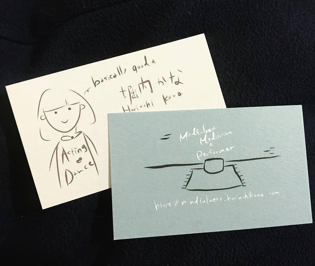 手書き文字名刺、似顔絵をお描きします 手書き風ではなく手書きです♩文字だけも可/リピーター割引有 イメージ1