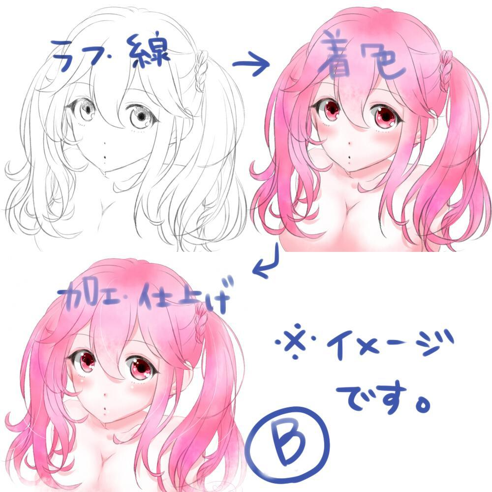 アイコンやイラスト、似顔絵などお描きします 3タイプからお好きな絵柄をお選び頂けます!!