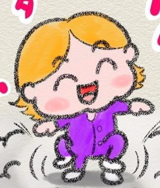 お子様のLINE絵文字作ります お子様をイラスト化してLINE絵文字にしませんか?