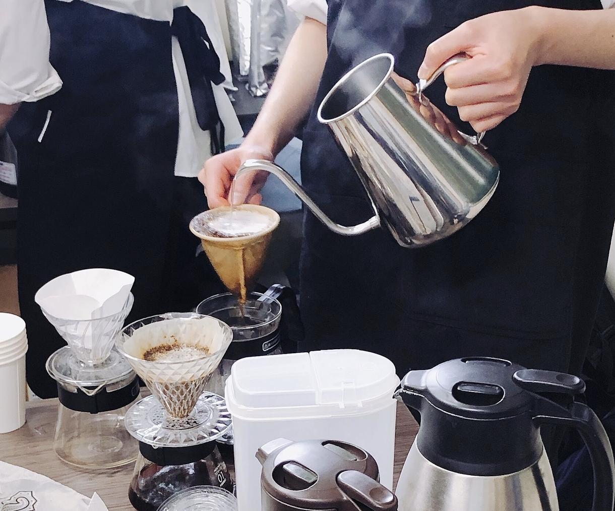 美味しいコーヒーの淹れ方教えます 珈琲研究会会員が美味しいペーパードリップの仕方を教えます!! イメージ1