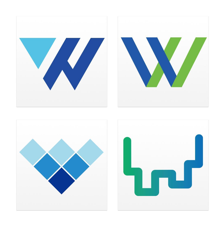 各種シンプル&フラットなロゴを作成いたします 実績豊富なプロのデザイナー達が世界で唯一のロゴをお作りします イメージ1