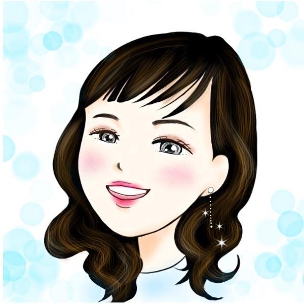理想実現!波動アップアイコン描きます ご自分の顔プラス憧れの雰囲気 入れてみたい方!!
