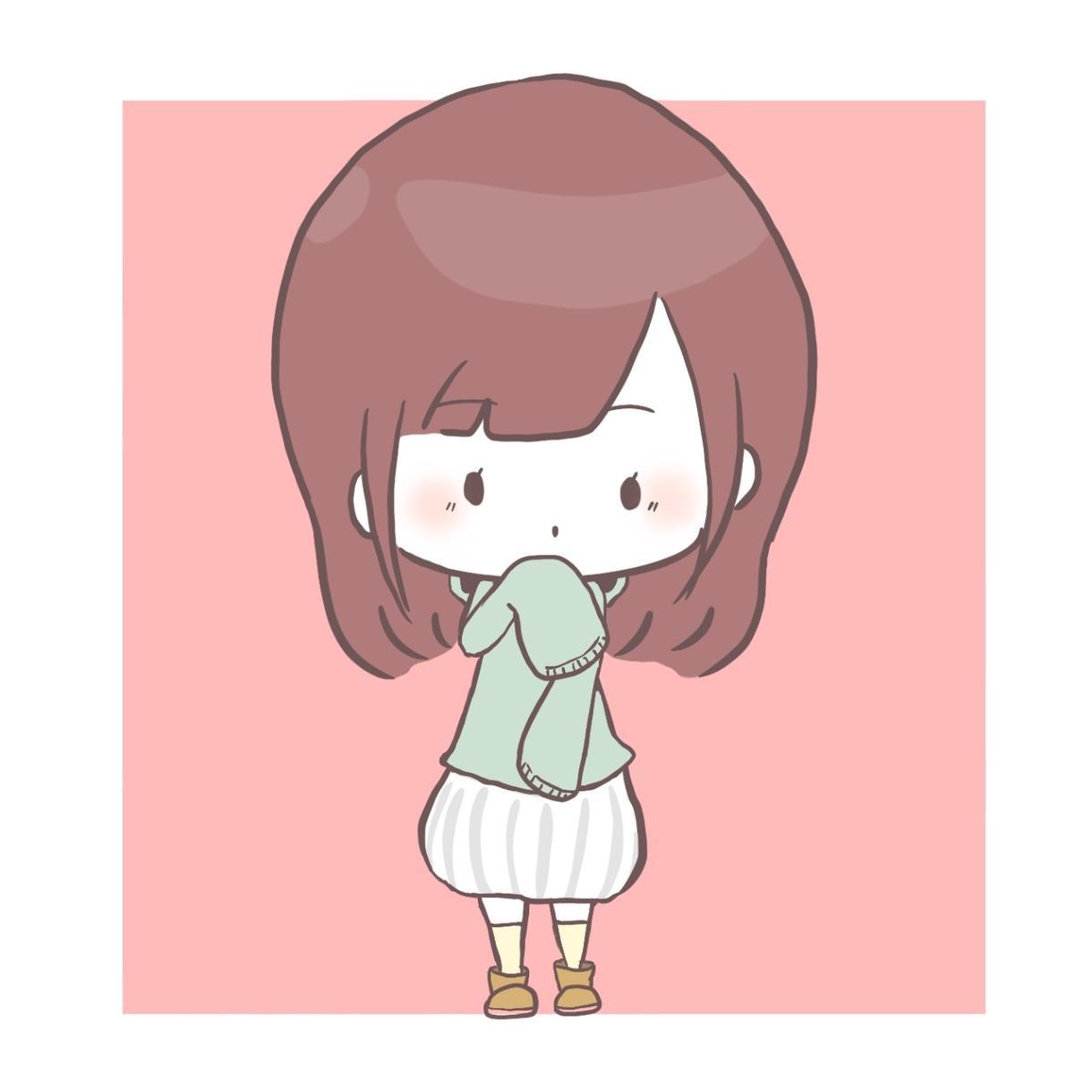 アイコンキャラ描きます 可愛いアイコンを作りましょう♪ イメージ1