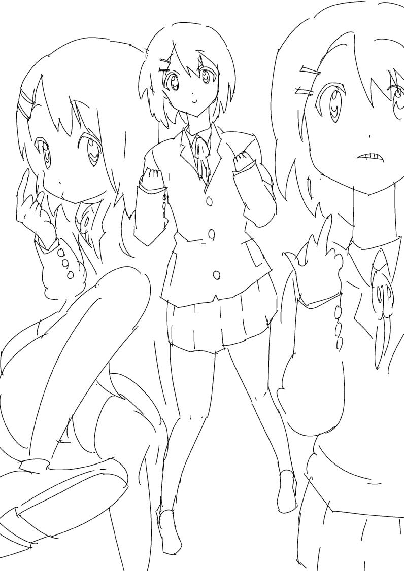 京アニ風イラストを描きます!
