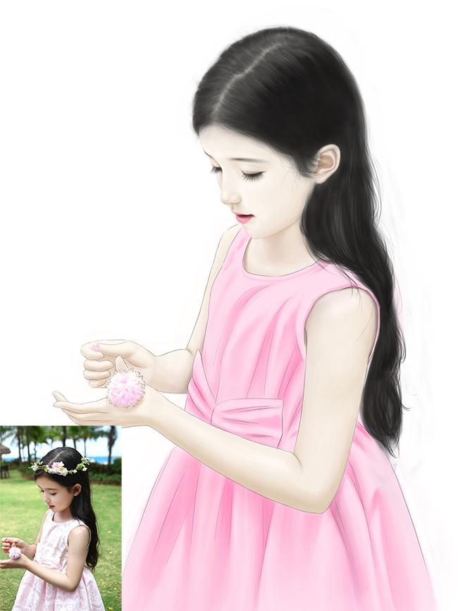 青春漫画風似顔絵を描きます 漫画風に若くて綺麗な自分の姿を再現したい方へ