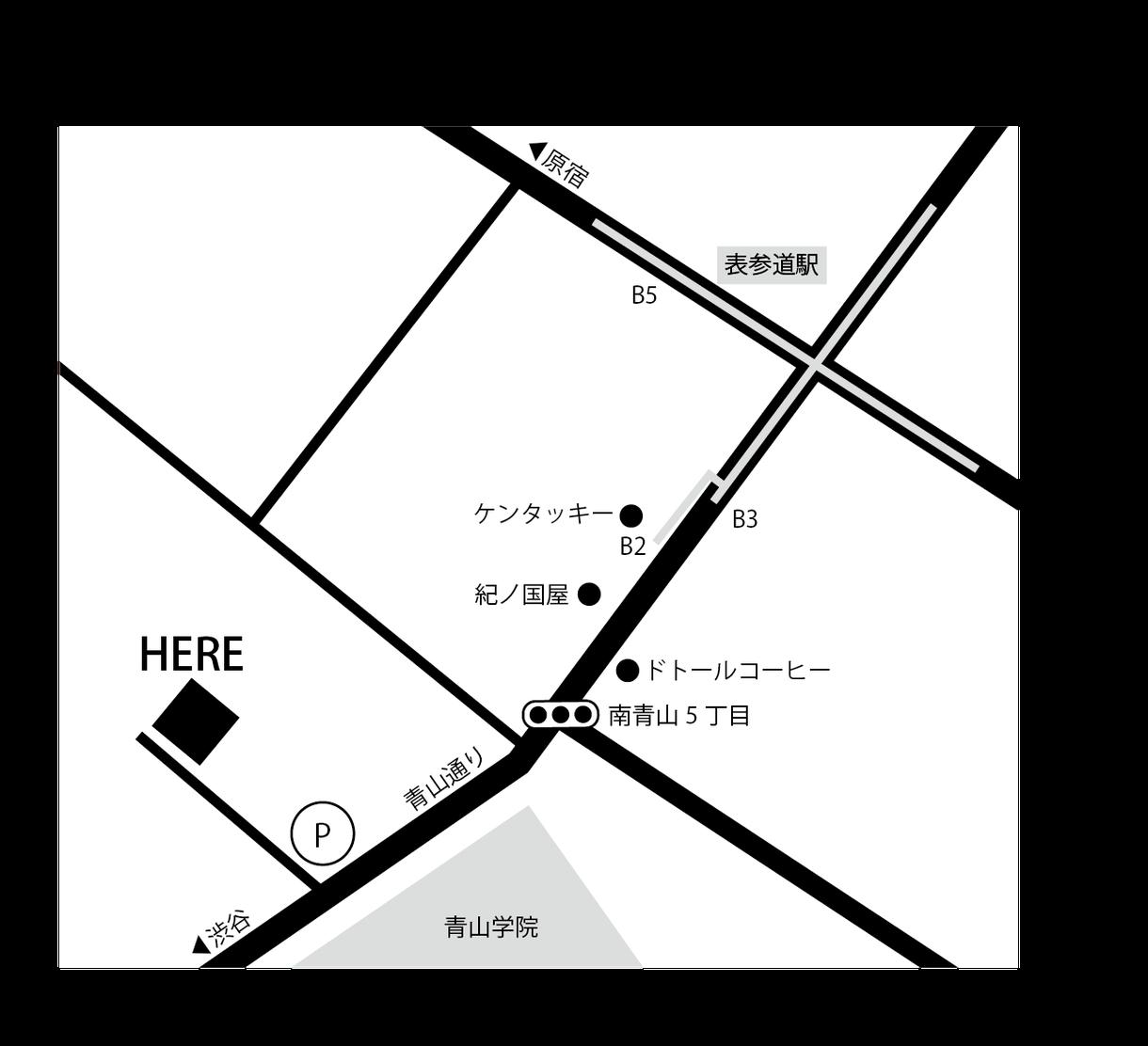 シンプルでスタイリッシュな地図を作ります チラシ、ショップカード、HPなどの地図が必要な方にオススメ