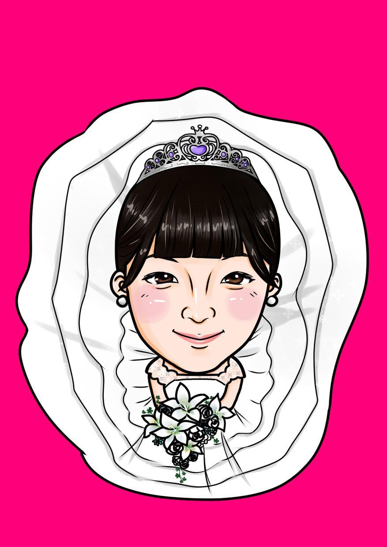 SNSや名刺や広告等に使える似顔絵を制作します 結婚式やお誕生日プレゼントにも大変喜ばれます!
