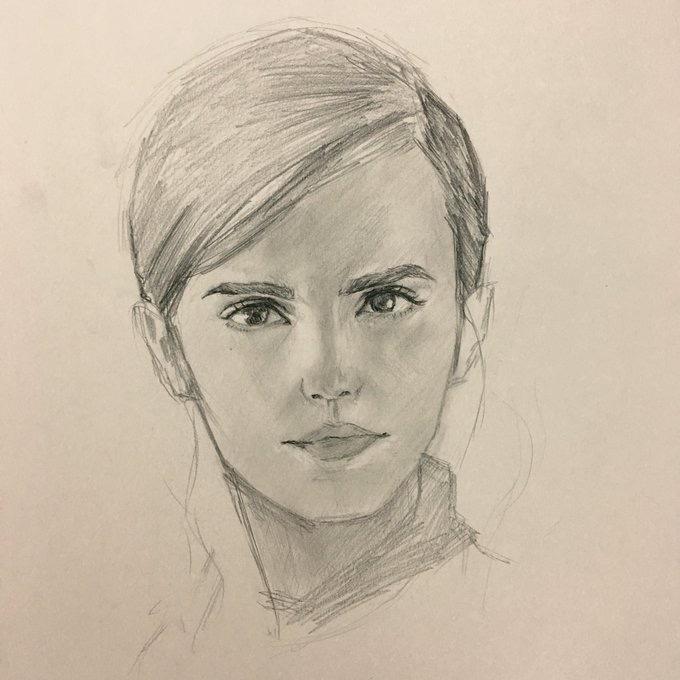 リアルな似顔絵を描きます 現役デザイナーが似顔絵を制作いたします。