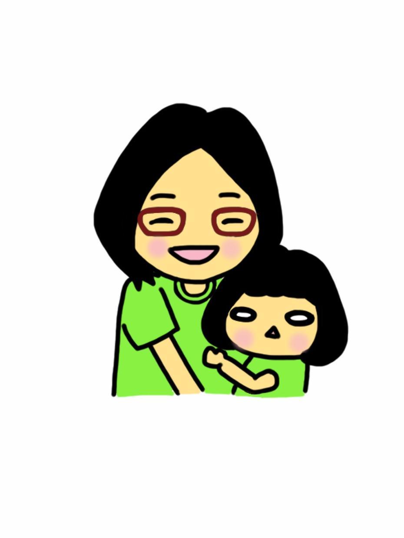 ママハタメンバー専用❗️心温まる似顔絵を描きます 活動記念としても、家族似顔絵としても!