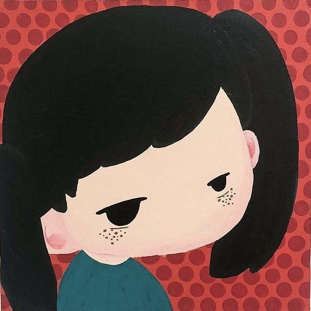 ポップで可愛いデフォルメ似顔絵描きます ご自身や大切な方の似顔絵をお部屋に飾りませんか? イメージ1