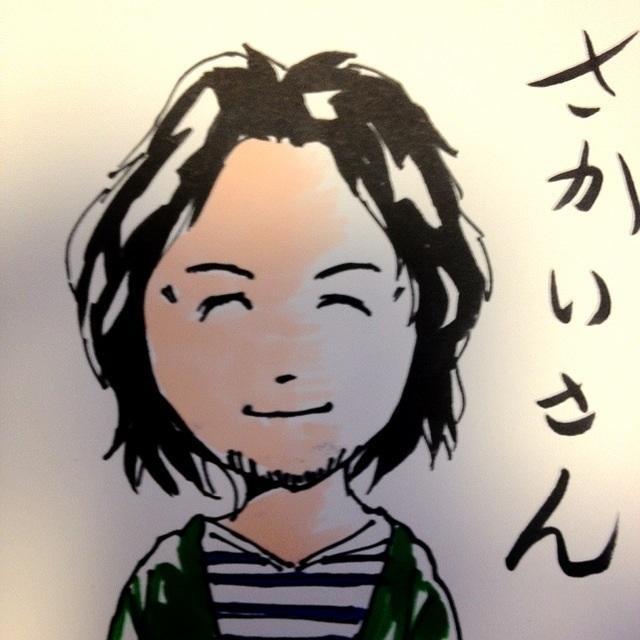 あなたの写真をもとに似顔絵を描きます。