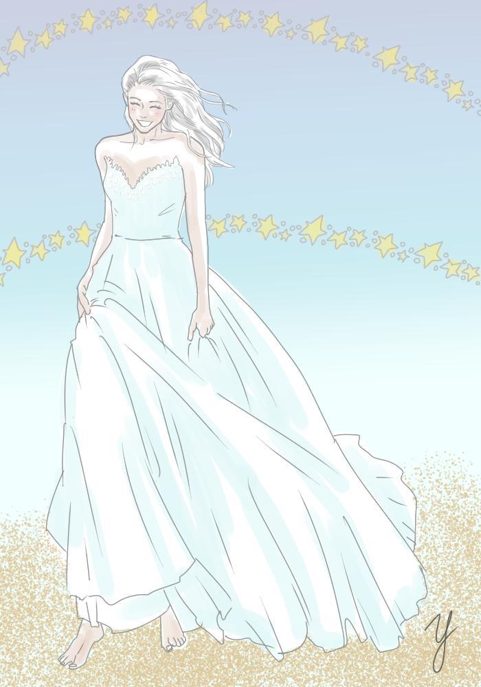 ウェルカムボードなど、結婚式用のイラスト描きます ほんわか可愛いウェディングイラストならお任せ♪