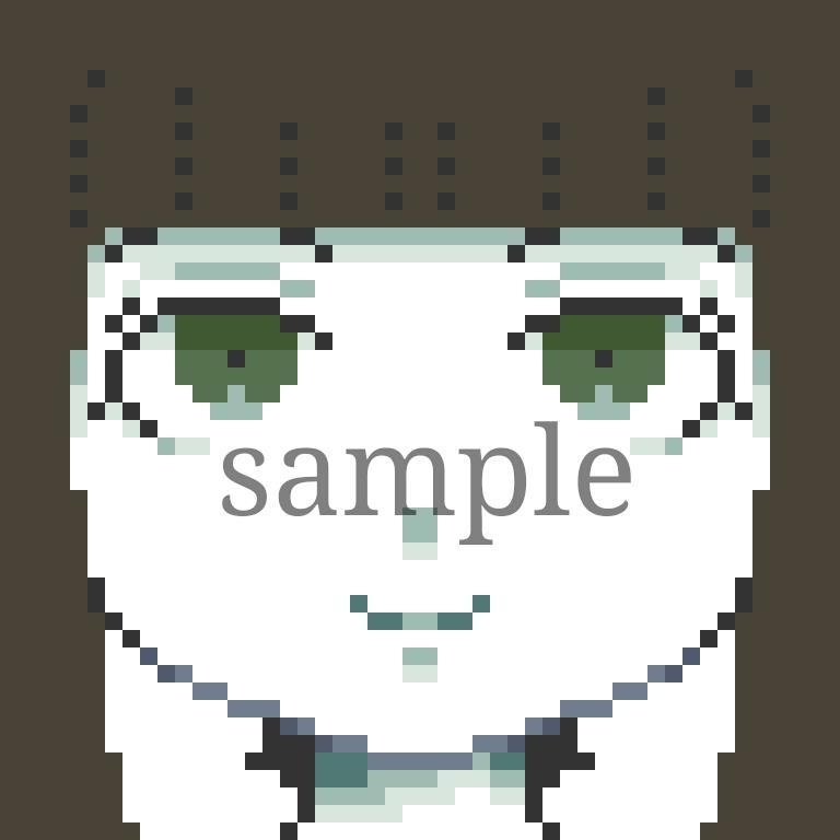 ドット絵のSNSアイコン【最短1日で】描きます -いつもと一味違うポップなドット絵でSNSに彩りを!