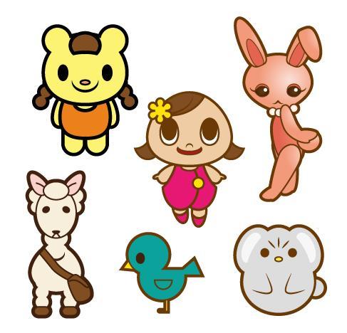 ロゴマーク・キャラクターの作成をします ロゴマークやキャラクターが必要な方へ