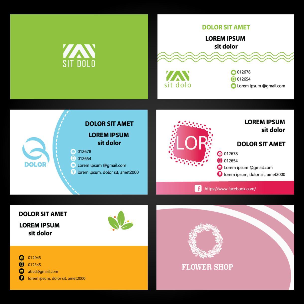 Aiデータは無料で提供!素敵な名刺を制作致します ハイクオリティ!名刺デザイン2提案を作成致します!