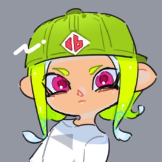 SNS等で使えるアイコン描きます スプラトゥーンキャラクターのアイコンを描かせて頂きます!