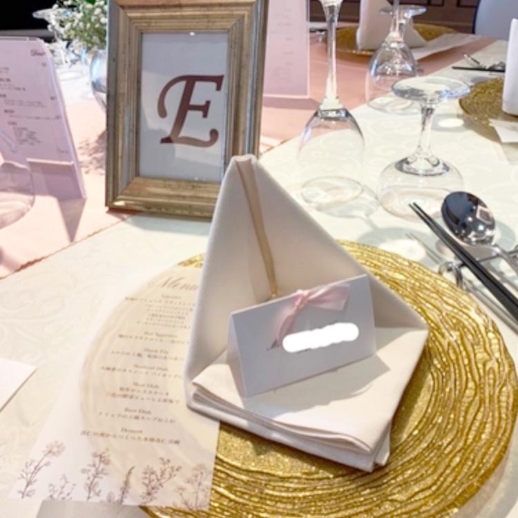 結婚式のメニュー表のパワポテンプレート作成します パワーポイントで簡単にメニュー表が作れるテンプレートです♡
