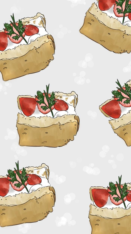 あなたの撮った食べ物の写真を携帯の壁紙にします オリジナルの壁紙が欲しいというあなたへ! イメージ1