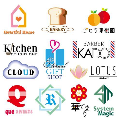 修正回数無制限[転売禁止]オリジナルロゴ作ります お店や事業のロゴ作りをお手伝いします。名刺データも承ります。