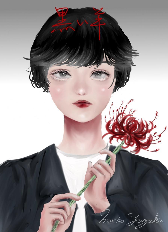 厚塗り女の子イラスト・似顔絵描きます 当日〜翌日納品!記念日のプレゼントなどにもおすすめです♡
