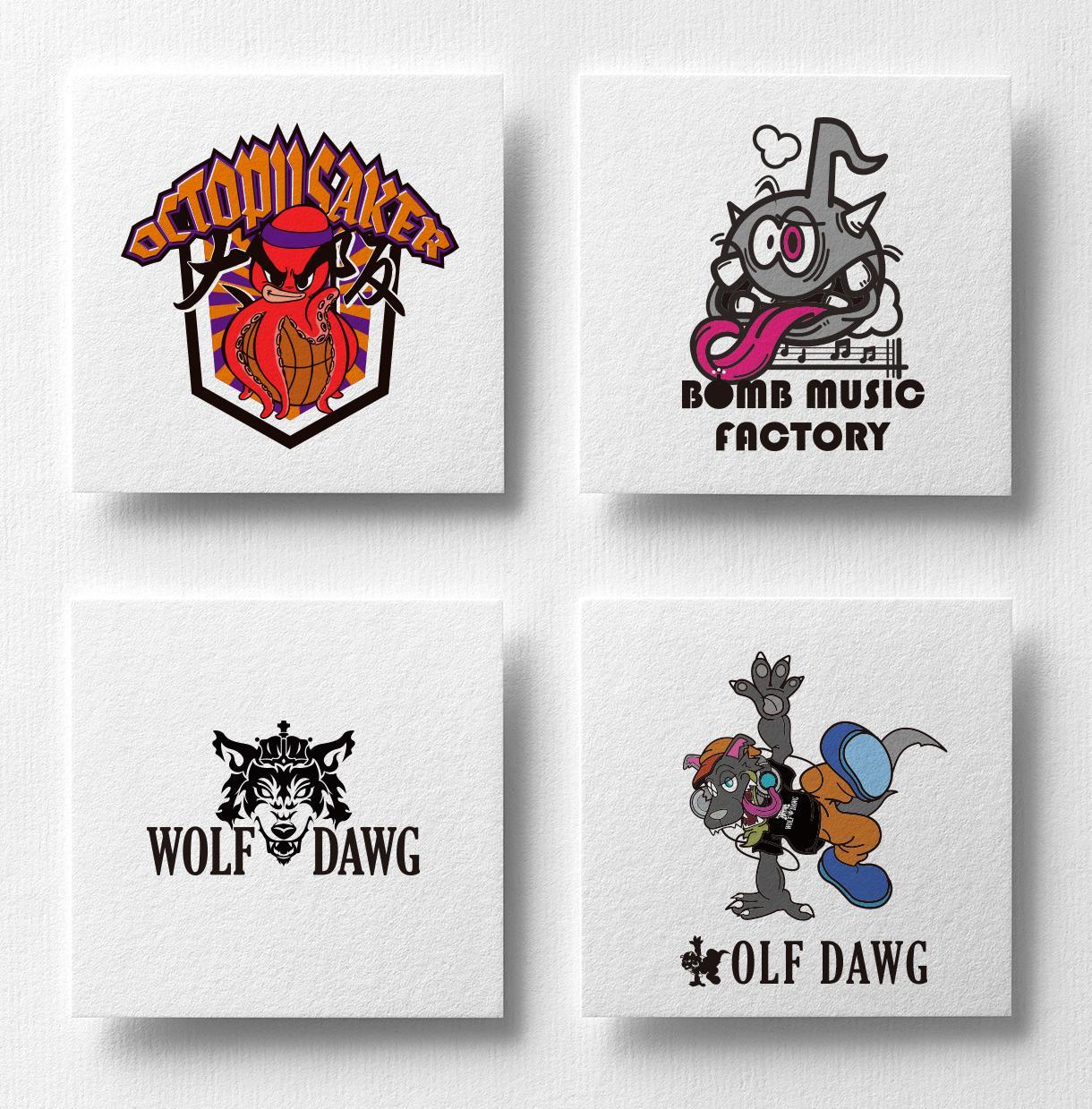 かっこいいキャラクター入りチームロゴ作ります プロのイラストレーターによるキャラクター&ロゴのセット提案!