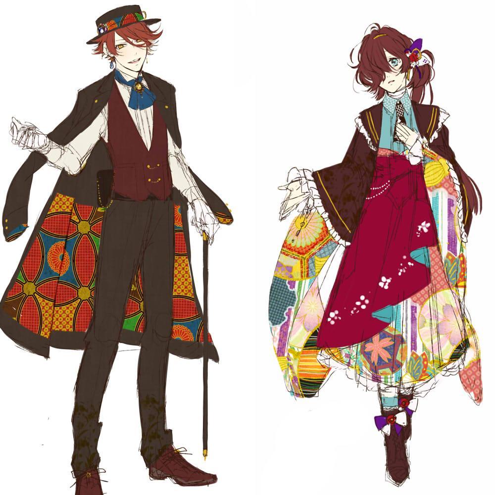 キャラクターデザインをいたします 素敵なキャラクター制作のお手伝いします!