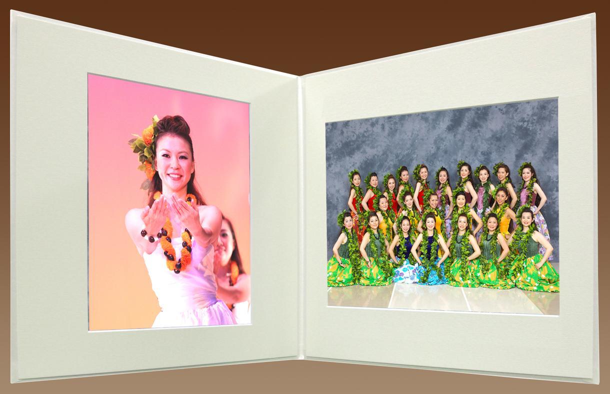 発表会の写真を綺麗な写真台紙アルバムにします ご自身で撮影した発表会の写真を綺麗に色調整をして想い出に