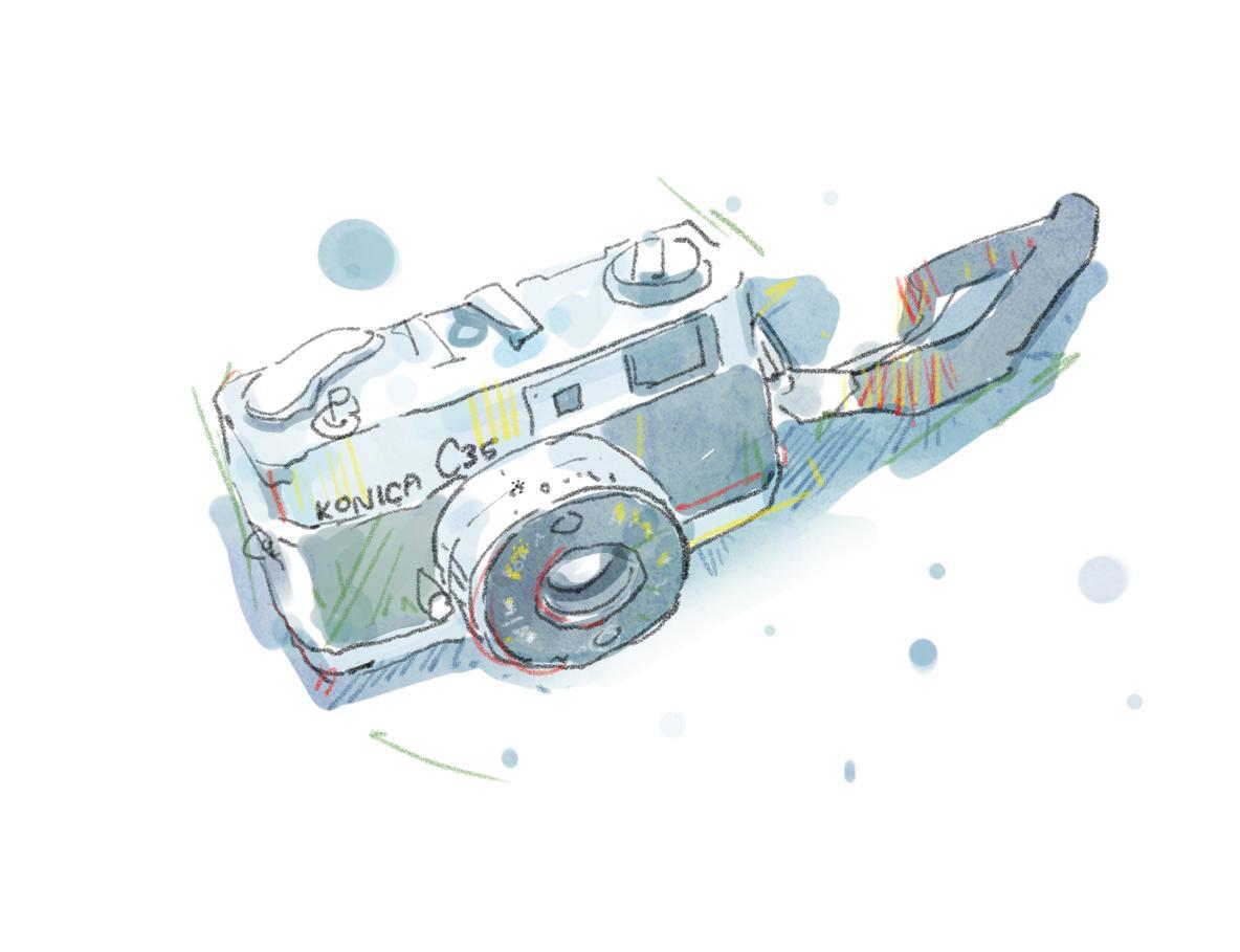 ラフなスケッチ風イラスト描きます ホームページや広告、本などの挿絵に!個人向けイラストも!