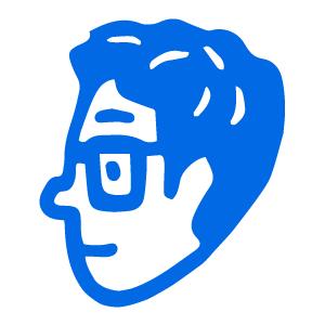 シンプルかわいい手描きフェイスアイコン描きます SNSやブログのアイコンなどに