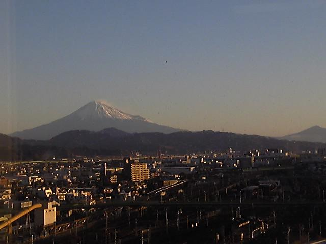 富士山の写真撮ります