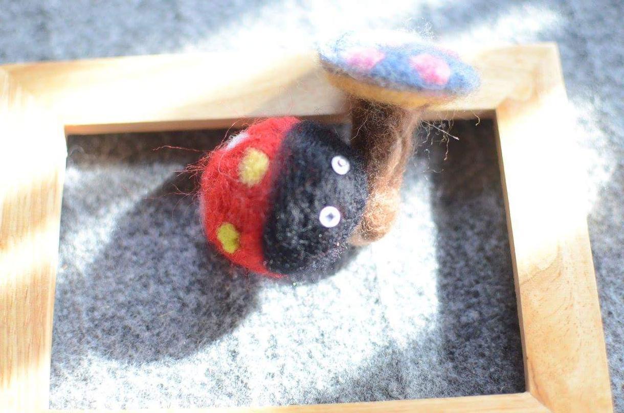 羊毛マスコットオーダーメイド