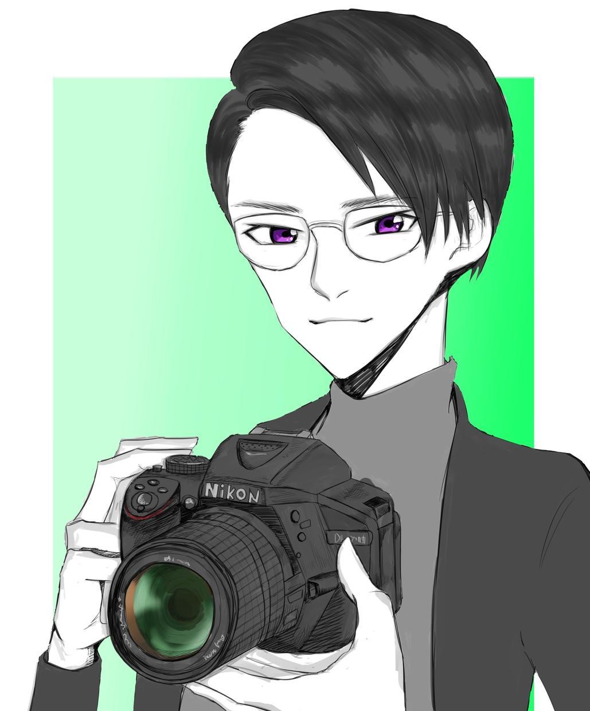 SNSアイコン用クール&かわいい似顔絵を描きます 自身がイメージキャラクターになり、個性を出そう