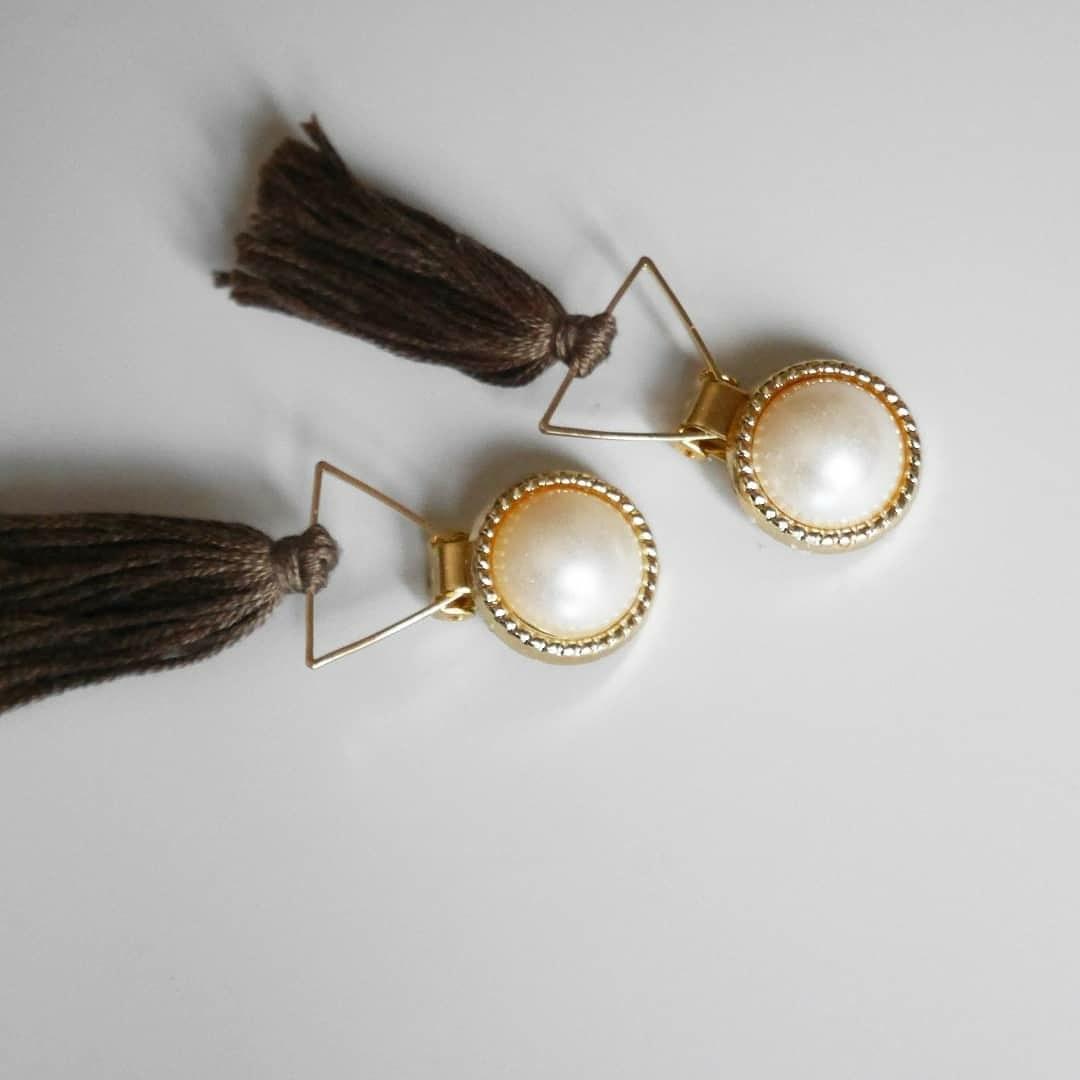 金アレ・ノンホールさんへ素敵なイヤリング作ります 今までなかった大人可愛い素敵なイヤーアクセサリー!